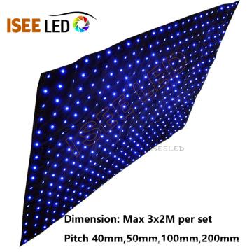 LED luces de cortina de escenario