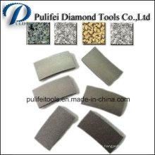 Segment de diamant pour les outils de diamant de pierre de coupe de granit