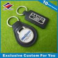 Lasergravur Logo Stempel Leder Schlüsselanhänger Schlüsselanhänger Promotioinal Geschenk