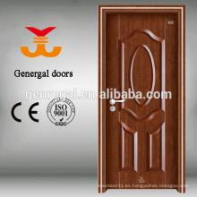 Puertas de acero interiores de madera con transferencia de calor