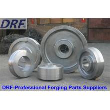Roues forgées (roues forgées en acier inoxydable à l'usine de vente directe)