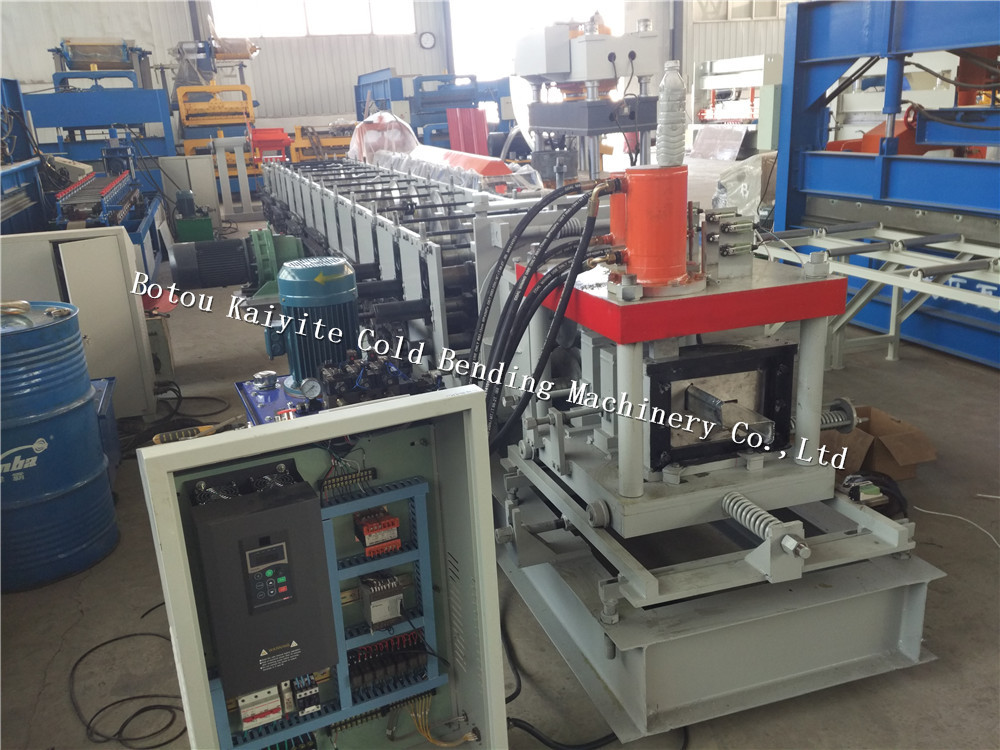Z purlin roll forming machine used in construction for Steel structure