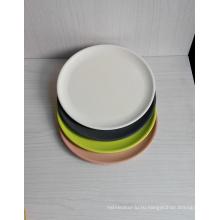 Bamboo Fiber Biodegradable Plate (BC-P1018)