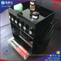 New Design Spinning Acrylic Lipstick Tower with Open Top for Cosmetics