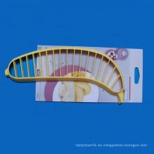 Cortadora de plátano Ensalada de plástico Cortador de pelador de frutas