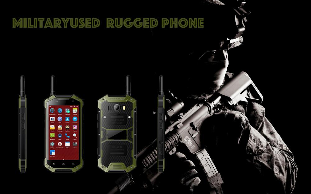 Military Used Rugged Smart Phone