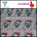 2016 spring season cotton cartoon cute doggy printing fabric for clothing