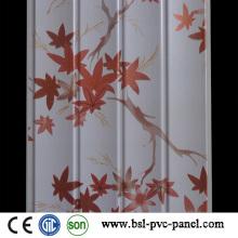 Panneau en PVC moulé en PVC moulé de 25 cm à 7,5 mm