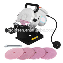 Cheapest GS CE EMC ROHS 100mm 220W Plastic Base Electric Chain Saw Sharpeners Grinder