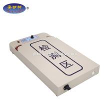 Detector de agulha para mesa de processamento de boné / chapéu / lenço
