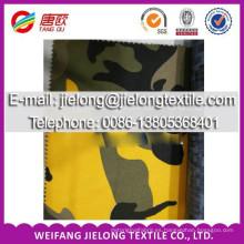 Twill T / C camuflaje tejido stock impreso en weifang china