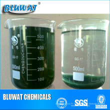 Traitement chimique des effluents de colorant de Decolor