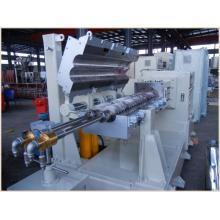 Extrudeuse de machine d'extrusion de plastique d'extrudeuse à double vis