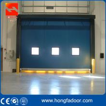 Puerta de enrollamiento rápida de alta calidad del PVC de la recuperación del uno mismo