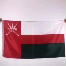 polyester printed 3x5 Oman flag custom