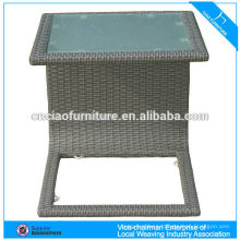 Modern design glass tea table side coffee table