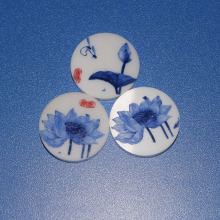 Zirconia Ceramic Disc with Glaze Painting