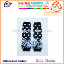 Attractive design breathable lovely girl baby leg warmers