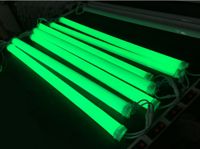 DMX RGB led tube light
