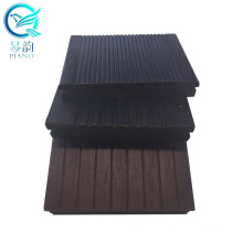 Eco-friendly Strand Woven 18mm carbonized bamboo decking and flooring for outdoor deck tiles / decking price