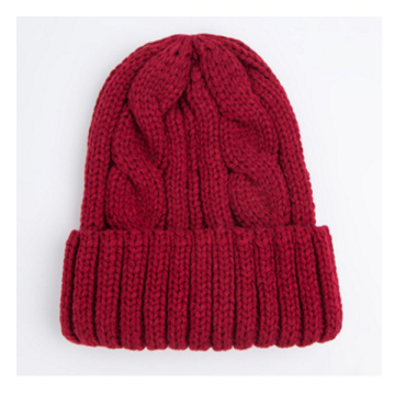 Gorra de gorra de encargo de moda cálida de invierno