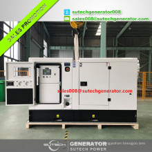 Soundproof silent type diesel generator 60 kw price