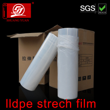 Film étirable anti-pression fort en LLDPE 12-35mic