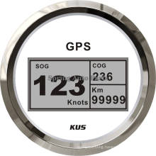 Best Sale 85mm Digital LED GPS Speedometer Velometer with Mating Antenna for Boats Yachts Cars Tractors Motorcycles (Don′t need sensor)