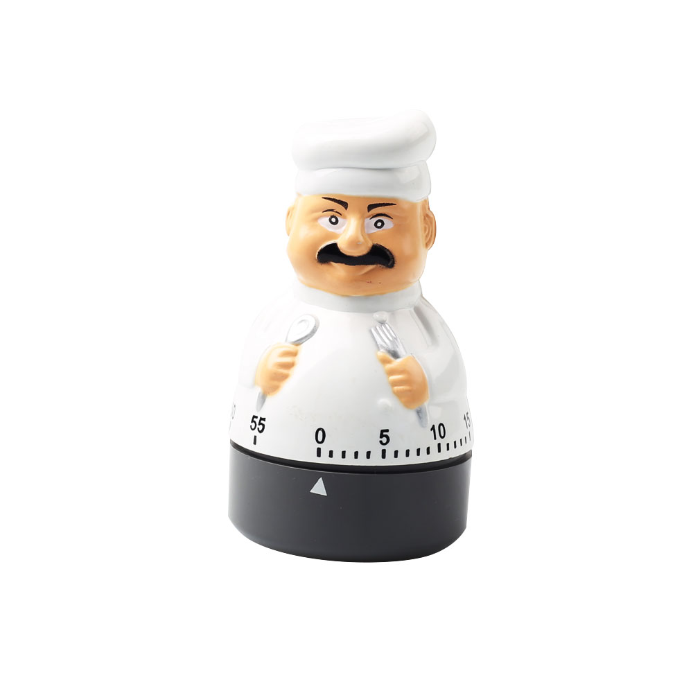Cute Cook Shape Mechanical Timer