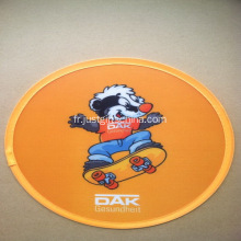 Polyester promotionnel Cartoon Frisbee imprimé