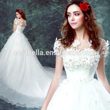 Elegante barata china por encargo vestido de novia de amor