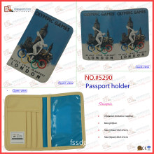 PU Leather Passport Holder for London Olympic Games (5290)