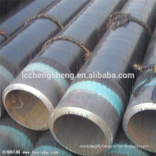 Cold drawn seamless blck carbon steel pipe precision pipe black tube from Liaocheng China