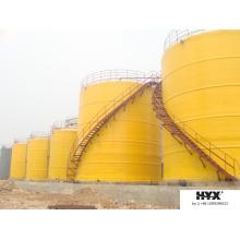 Tanque de armazenamento químico de fibra de vidro / navio