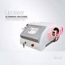 Reducción de grasa lipo láser Diodo Lipólisis