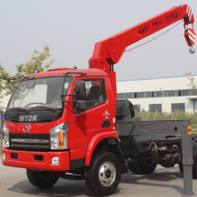 Cheapest Factory for Offer Truck With Crane,Mini Crane With Truck,Small Truck Mobile Crane From China Manufacturer 8 Ton Small Carry Deck Crane supply to Sudan Manufacturers