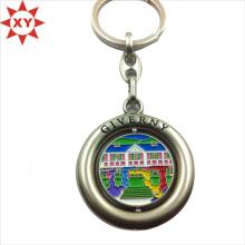 Drehbarer Schlüsselanhänger mit Logo Made in China (XY-mxl91002)