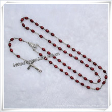 Wooden Rosary Bead Necklace/Wooden Beads Rosary Bracelet/Wooden Rosary Necklaces (IO-cr013)