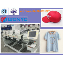 Automatic 4 Heads Computer Embroidery Machine for Garment/ Caps/Flat
