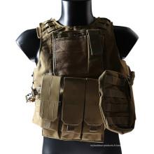 Matériel militaire chasse armure de corps Molle gilet pare-balles veste tactique