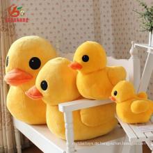 Stofftier Good Stuff Pusheen Große gelbe Ente Singen Plüsch Ente Spielzeug mit Sound