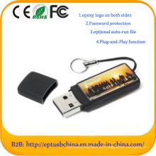 China Fabrik Zoll Epoxy Logo USB Flash für kostenlose Probe (ET082)