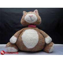 OEM design; stuffed soft plush fat fox toy