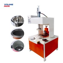 Máquina que prensa hidráulica del producto metálico que rebordea SS
