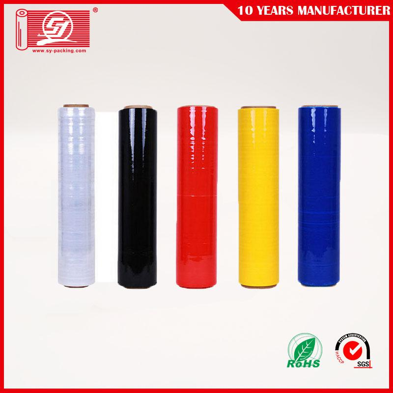 Colorful stretch film