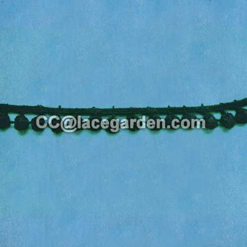 Black Color Water Soluble Lace