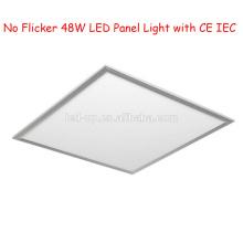 No parpadea 595 * 595 LED Panel de luz 48W
