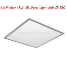 Não cintilação 595 * 595 LED Painel Light 48W