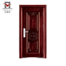 Porte en acier bon marché à extrémité élevé largement utilisée et acceptée de sécurité d'OEM