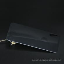 Moda à prova de choque 3d vidro temperado curvo tampa traseira protetor do telefone acessórios do telefone móvel acessório para iphone x